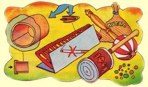 Музыкальные инструменты детям своими руками